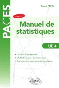 Manuel de statistiques : UE4