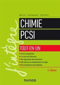Chimie PCSI : tout-en-un