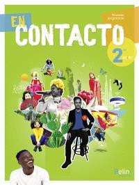 En contacto 2de, A2-B1 : nouveau programme