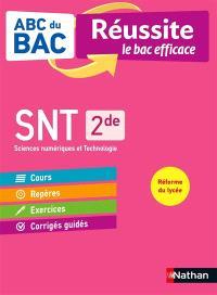 SNT, sciences numériques et technologie 2de : réforme du lycée