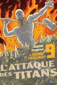 L'attaque des titans : édition colossale. Volume 9