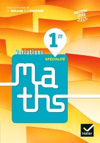 Variations, maths 1re spécialité