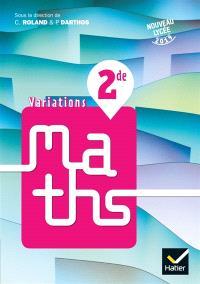 Variations, maths 2de