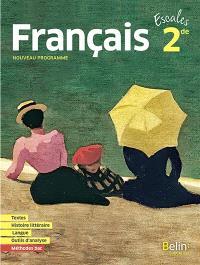Français 2de : nouveau programme