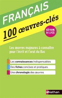 Français : 100 oeuvres-clés : réforme du lycée
