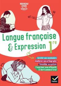 Langue française & expression 1re