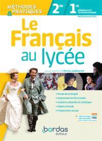 Le français au lycée, 2de, 1re générale et technologique : programme 2019