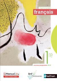 Français 1re : nouveau programme 2019 : i-manuel 2.0 livre + licence élève