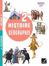 Histoire géographie 2de : nouveaux programmes 2019