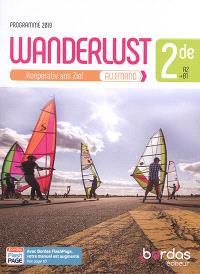 Wanderlust, allemand 2de, A2-B1 : Kooperativ ans Ziel : programme 2019