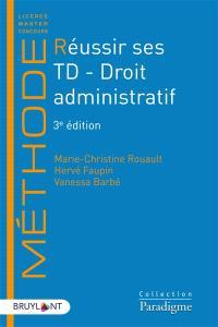 Réussir ses TD, Droit administratif