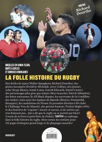 La folle histoire du rugby : oreilles en chou-fleur, boîte à gifles et grosses rigolades : le beau livre Tampon !