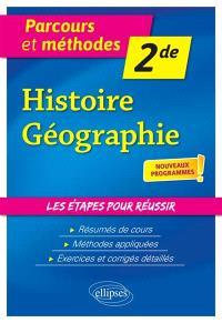 Histoire géographie, 2de : nouveaux programmes