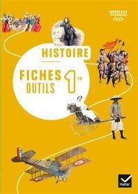 Histoire 1re : fiches outils : nouveaux programmes