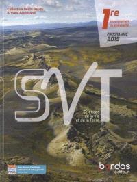 SVT, sciences de la vie et de la Terre 1re, enseignement de spécialité : programme 2019