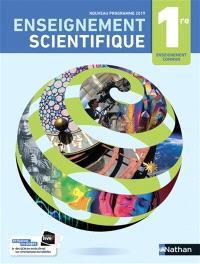 Enseignement scientifique 1re : manuel 2019