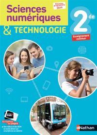 Sciences numériques & technologie 2de, enseignement commun : nouveau programme 2019