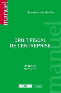 Droit fiscal de l'entreprise : 2019-2020
