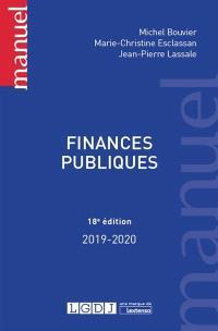 Finances publiques : 2019-2020