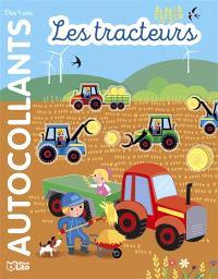 Les tracteurs : autocollants