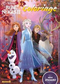 La Reine Des Neiges 2 Coloriage Avec Stickers Walt Disney