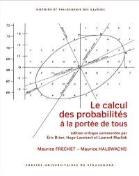 Le calcul des probabilités à la portée de tous