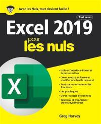 Excel 2019 pour les nuls : tout en un