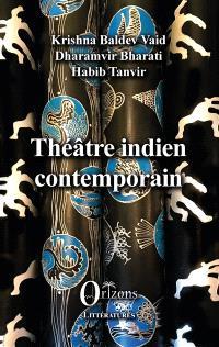 Théâtre indien contemporain