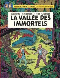 Les aventures de Blake et Mortimer : d'après les personnages d'Edgar P. Jacobs, Volume 26, La vallée des immortels. Volume 2