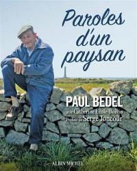 Paroles d'un paysan
