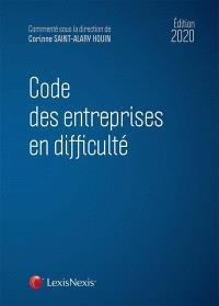 Code des entreprises en difficulté : 2020