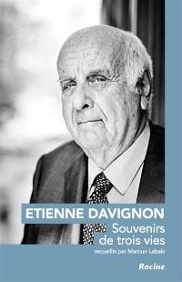 Etienne Davignon : souvenirs de trois vies
