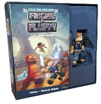 Coffret Frigiel et Fluffy : cycle des Farlands : tome 1 + figurine