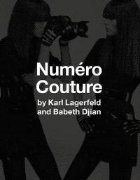 BABETH DJIAN KARL LAGERFELD NUMERO COUTURE /ANGLAIS