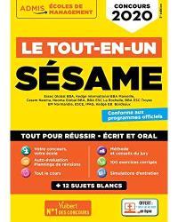 Sésame : Essec Global BBA, Kedge International BBA Marseille, Cesem Neoma... : le tout-en-un, concours 2020