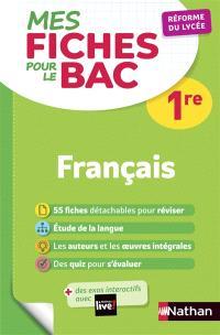 Français 1re : réforme du lycée
