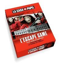 La casa de papel : l'escape game : vous avez 60 minutes pour réaliser le casse du siècle !