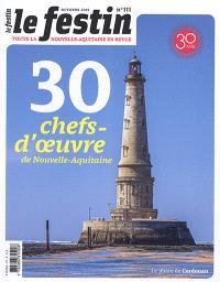 Festin (Le). n° 111, 30 chefs-d'oeuvre de Nouvelle-Aquitaine