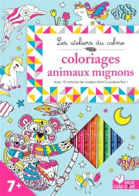 Coloriages animaux mignons