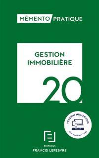 Gestion immobilière 2020