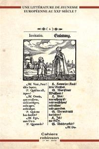 Cahiers Robinson. n° 46, Vers une littérature de jeunesse européenne ?