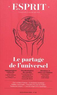 Esprit. n° 461, Le partage de l'universel