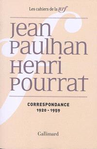Correspondance : 1920-1959