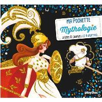 Ma pochette mythologie : cartes à colorier et à gratter