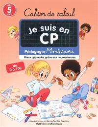 Je suis en CP : cahier de calcul