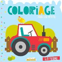La ferme : coloriage pour les petits