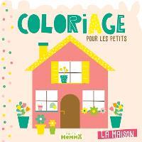 La maison : coloriage pour les petits