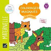 Les animaux : coloriages magiques maternelle grande section, 5-6 ans