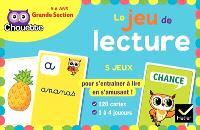 Le jeu de lecture : grande section, 5-6 ans : 5 jeux pour s'entraîner à lire en s'amusant !