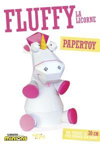 Fluffy la licorne : papertoy